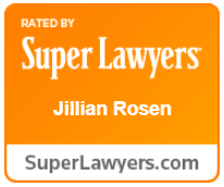 Super Lawyers Award - Jillian Rosen