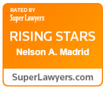 Super Lawyers Rising Stars Award - Nelson A. Madrid