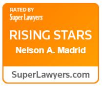 Super Lawyers Rising Stars Award - Nelson A. Madrid