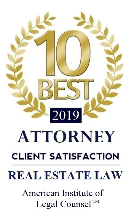 2019 10 Best Attorney Real Estate Law Fred DeCicco