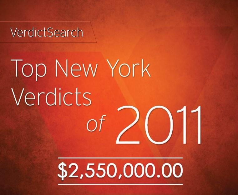 Verdict Search - Highest Verdict for No-Fault Motor Vehicle Accident 2011