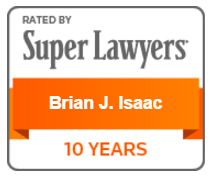 Super Lawyers Award - Brian J. Isaac