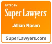 Super Lawyers Award - Jillian Rosen
