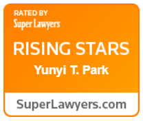 Super Lawyers Rising Stars Award - Yunyi T. Park