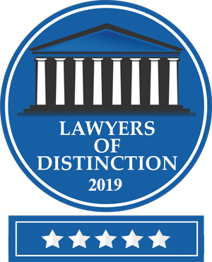 New York Lawyers of Distinction 2019 - Conrad Pollack